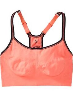 Old Navy Sports Bra- I have been having a hell of a time finding a good supportive sports bra for a small band and er, larger cup....this is the one! I bought 4 just yesterday! I won't stop till I have one in every color :) Highly recommend!
