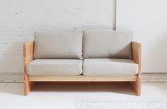 HomeMade Modern DIY EP66 Box Sofa Options