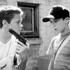 """Chris: """"You wanna be the Lone Ranger or the cisco kid?"""" Stand by Me <3"""