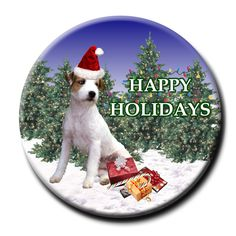 Jack Russell wishes you Merry Christmas