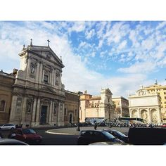 Earlier today... #Rome