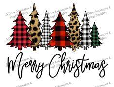 Merry Christmas Buffalo Plaid and Leopard Cheetah Christmas Merry Christmas, Christmas Vinyl, Plaid Christmas, Christmas Shirts, Christmas Time, Christmas Crafts, Christmas Decorations, Christmas Ideas, Christmas Doodles
