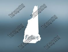 New Hampshire Home State Svg Dxf Pdf Jpg Cut by TheDesignsShop