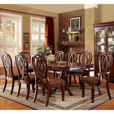 Westport 7 Piece Dining Set  Moving  Pinterest  Dining And Lights Inspiration Traditional Dining Room Sets Cherry Decorating Design