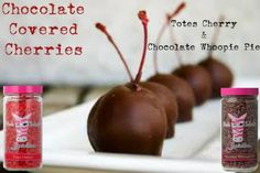 Chocolate Covered Cherries Recipe Get it at www.pinkzebrahome.com/lifeisbetterwithsprinkles