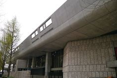 Tokyo Bunka Kaikan designed by Kunio Maekawa