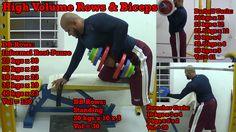 High Volume Rows & Biceps: https://youtu.be/pGht3SOTCAE