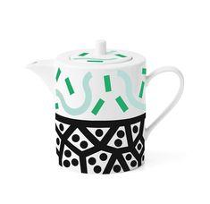 Conjunto de porcelana inspirado no estilo Memphis (Foto: Kasia Bobula / divulgação)