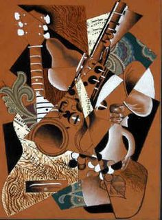 Article on where artists get ideas is great cubism still life drawing 6 Collages, Cubist Art, Composition Art, Collage Techniques, Still Life Drawing, Easy Canvas Painting, Middle School Art, High School, Art Lesson Plans
