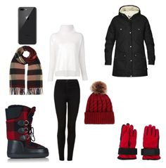 """Winter # 2"" by tiannameeks on Polyvore featuring Dsquared2, Fjällräven, Topshop, 10 Crosby Derek Lam and Burberry"
