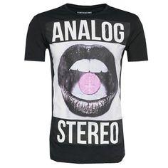 Das schwarze #Shirt mit #Fotoprint eignet sich perfekt für den nächsten #Konzertbesuch ab 27,90€ ♥ Hier kaufen: http://www.stylefru.it/s230427
