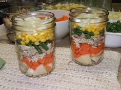 Canning Granny: Full Service Grab 'N' Go Canned Soup Part 3: Layered Chicken Veggie Soup