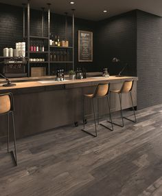 Porcelain stoneware wall/floor tiles with wood effect DOLPHIN by ABK Industrie Ceramiche