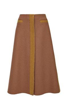Felted Edge Shetland Skirt by Derek Lam for Preorder on Moda Operandi