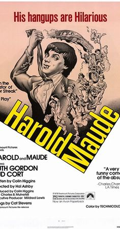 Directed by Hal Ashby. With Ruth Gordon, Bud Cort, Vivian Pickles, Cyril Cusack. Young, rich, and obsessed with death, Harold finds himself changed forever when he meets lively septuagenarian Maude at a funeral.