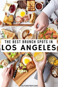 The 10 Best Breakfasts and Brunches in Los Angeles There is no shortage of eateries to satisfy a pre-noon craving in Los Angeles. The Best Brunch Spots In Los Angeles California Food, California Vacation, California California, California Quotes, California Burrito, California Mountains, California Closets, California Fashion, California Camping