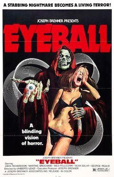 Eyeball (Umberto Lenzi, 1974, A. K. A. The Devil's Eye, The Eye, The Secret Killer, Wide-Eyed in the Dark)