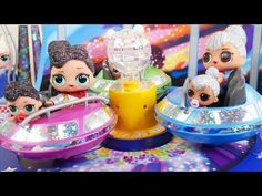 Shimmer and Shine LOL Surprise Dolls Playmobil Fair Mall Scared Cry Spit Bedtime Routine Wake Daddy! - YouTube
