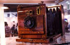 Old Camera. Classic compur