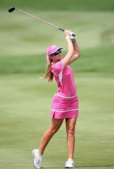 Golf a fashionable place for women