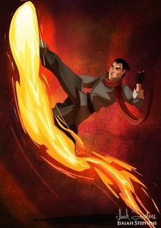 Li Shang as Mako // http://www.buzzfeed.com/briangalindo/10-disney-heroes-dressed-up-in-awesome-halloween-costumes#.atZbgKg6d