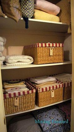DIY:: How To Beautifully Organize Linen Closet !