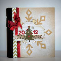 misted snowflake on the cover!! | CreativiT: Simple Stories December Daily Blog Hop