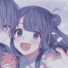 Friend Anime, Anime Best Friends, Cute Couple Wallpaper, Cute Anime Wallpaper, Cute Anime Profile Pictures, Cute Anime Pics, Manga Anime Girl, Otaku Anime, Cute Anime Coupes