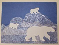 Wax Paper and Polar Bear Craft | Tippytoe Crafts