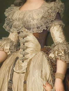 "detailsofpaintings: "" Adolf Ulrik Wertmüller, Queen Marie-Antoinette and two of her Children Walking in the Park of Trianon 1785 """
