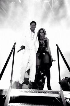 Beyonce & Jayz On The Run Tour 2014 September Paris, France