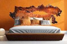 Custom Live Edge Wood Headboards - Beautiful large wood slabs, Hand crafted into Unique, One of a Kind - Rustic Modern Bedroom Decor - Holz und Bambus Kunst - Modern Rustic Decor, Modern Bedroom Decor, Unique Home Decor, Reclaimed Wood Headboard, Wooden Headboards, Distressed Headboard, Large Wood Wall Art, Live Edge Wood, Wood Beds