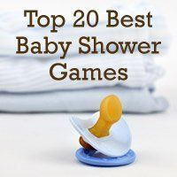 Top 20 Best Baby Shower Games