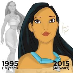 What Would Disney Princesses Look Like If They Aged After Their Happily Ever After?