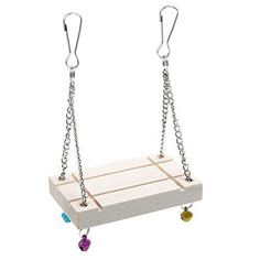 Product description : An interesting gift for pets. Let your pets play happily! Product specification: Name: Pet Swings Material: Wood+Metal Size: 5*8cm Color: White Quantity: 1Pc  Warm prompt: -Transition: 1cm=10mm=0.39inchh . -Please allow 0-1cm error due to manual measurement. pls make sure... more details available at https://perfect-gifts.bestselleroutlets.com/gifts-for-pets/for-birds/product-review-for-changyou-hamster-cage-pet-toys-seesaw-wooden-swing-harness-parrot-ha