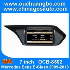 Ouchuangbo Car GPS DVD Player Mercedes Benz E-Class 2009-2013 Radio Multimedia System  http://www.ouchuangbo.com/en/ProItem.aspx?id=1149&classlist=106.126.