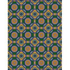 Julius Holland - Waxblock - African Fabric - Design: 1313-cw249A