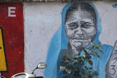 Wall Paintings Of Peace by firoze shakir photographerno1, via Flickr