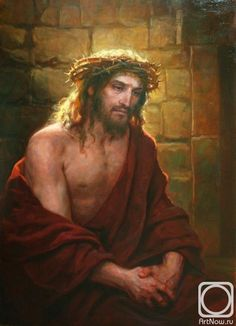 Andrei Shishkin - painting Christ in the Dungeon Jesus Our Savior, Jesus Christ Quotes, Pictures Of Jesus Christ, Jesus Art, Jesus Is Lord, Jesus E Maria, Jesus Painting, Christ The King, Biblical Art