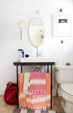 Even if a remodel's not in the cards, there are still plenty of things you can do to make your bathroom a beautiful, unique space. Here are 9 (renter-friendly) ideas to makeover your bathroom for a transformation without remodeling