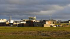 The tower at #Belfast International #Airport: Belfast International has flights departing to and arriving from around 80 different destinations around the world – including direct flights to New York – and the #NATS team in the tower on the far side of the runway from the terminal run a 24-hour operation to manage the traffic. #aviation #airtraffic #avgeek