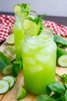 Espanpin - Cucumber, Mint and Lime Refreshers Recipe Lemon Water Health Benefits, Lemon Benefits, Cucumber Benefits, Warm Lemon Water, Drinking Lemon Water, Lemon Cucumber Water, Cucumber Juice, Fresco, Breakfast