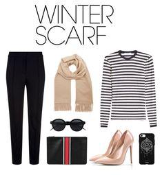 """Winter scraf"" by tiwik on Polyvore featuring MaxMara, Escada Sport, Givenchy, Fifth & Ninth and winterscarf"