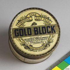 Gold Block Fine Virginia Cut Plug
