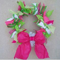 Cute Ribbon Wreath