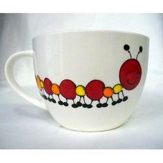 Une autre tasse magnifique, parfaite à offrir en cadeau grâce à la petite pensée écrite derrière! Allez jetez un coup d'œil :)