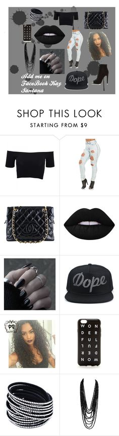 """"""""""" by x-keekee-x on Polyvore featuring American Apparel, Chanel, Lime Crime, J.Crew, River Island, women's clothing, women, female, woman and misses"""