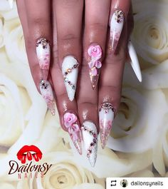 """4 Likes, 2 Comments - Amanda (@secdoover) on Instagram: """"#Repost @dailonsynails with @instatoolsapp ・・・ @dailonsynails Para citas 7866509716…"""""""
