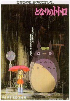 """Tonari no Totoro"" (My Neighbor Totoro) (Mi vecino Totoro) (1988). COUNTRY: Japan. DIRECTOR: Hayao Miyazaki. SCREENWRITER: Hayao Miyazaki. COMPOSER: Jô Hisaishi. (Studio Ghibli)"