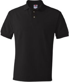 Hanes Men's ComfortSoft® Cotton Pique' Polo, Multi Pack # 055X Hanes Hosiery, We Are The World, Mens Tees, Black Cotton, Rib Knit, Polo Shirt, Polo Ralph Lauren, Mens Fashion, How To Wear